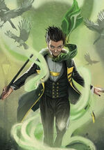 Loki Laufeuson (Earth-TRN747) from Loki Where Mischief Lies Cover