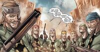 Madrox Gang (Earth-807128) from Old Man Hawkeye Vol 1 1 0001
