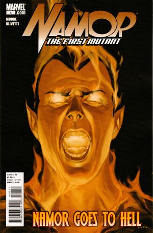 Namor The First Mutant Vol 1 6
