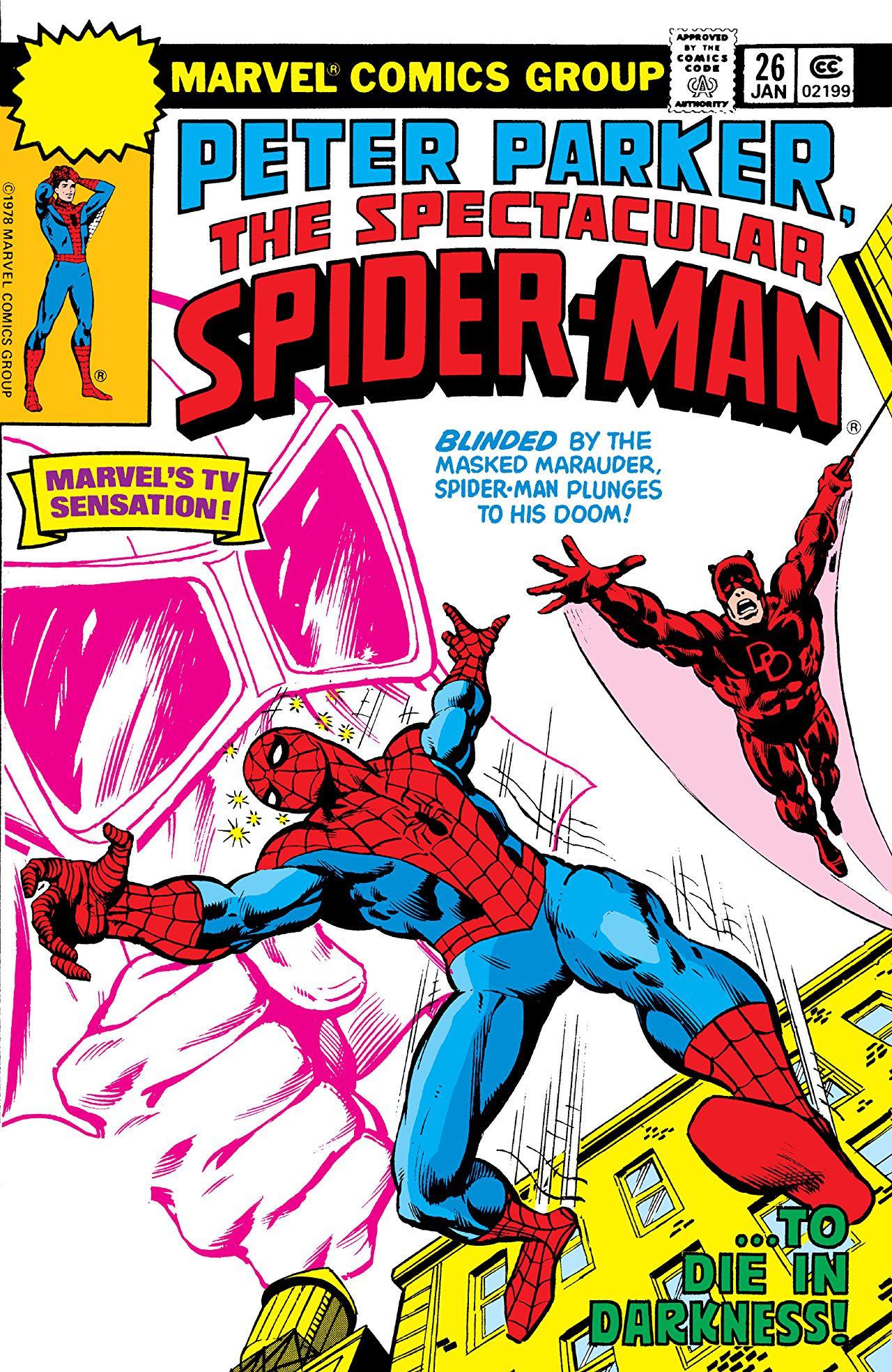 Peter Parker, The Spectacular Spider-Man Vol 1 26.jpg