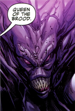 Queen of the Brood (Galactic Council) (Earth-616) from Guardians of the Galaxy Vol 3 2 0001