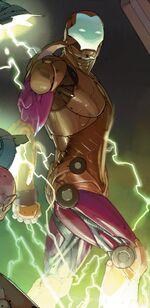 Rhodey Stark (Earth-12665) from Avengers Vol 5 24.NOW 001