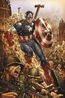 All-New, All-Different Avengers Vol 1 4 Captain America 75th Anniversary Variant Textless