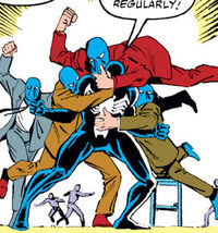Blue Boys (Earth-616) from Amazing Spider-Man Vol 1 284 0001