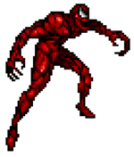 Cletus Kasady and Carnage (Symbiote) (Earth-33734) from Spider-Man and Venom Maximum Carnage 001