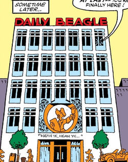 Daily Beagle from Marvel Tails