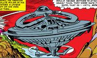 Gyroscopic Aircraft (Earth-616) from Fantastic Four Vol 1 39