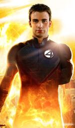 Jonathan Storm (Earth-121698) from Fantastic Four Rise of the Silver Surfer (film) Promo 0001