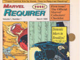 Marvel Requirer Vol 1 1