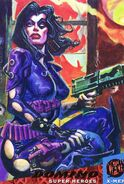 Neena Thurman (Earth-616) from 1994 Ultra X-Men (Trading Cards) 0001