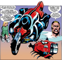 Spider-Cycle from Amazing Spider-Man Vol 1 439