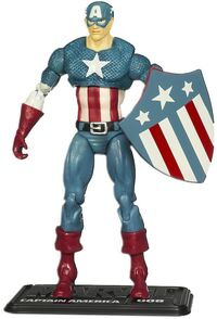 Steven Rogers (Earth-616) from Marvel Universe (Toys) Series 2 Wave VII 0001