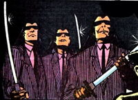 Triad Brothers (Earth-616) from Marvel Comics Presents Vol 1 70 0001