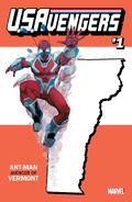 U.S.Avengers Vol 1 1 Vermont Variant