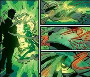 Victor von Doom (Earth-616), Valeria (Latverian) (Earth-616) and Doctor Doom's Mystical Armor from Fantastic Four Vol 3 67 0001