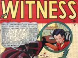Witness Vol 1 1