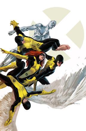 X-Men First Class Vol 1 1 Textless