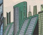 Alchemax Headquarters from Ravage 2099 Vol 1 11 001
