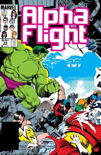 Alpha Flight Vol 1 29 | Marvel Database | Fandom