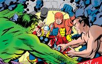 Avengers (Earth-616), Bruce Banner (Earth-616) and Namor McKenzie (Earth-616) from Avengers Vol 1 3 0001