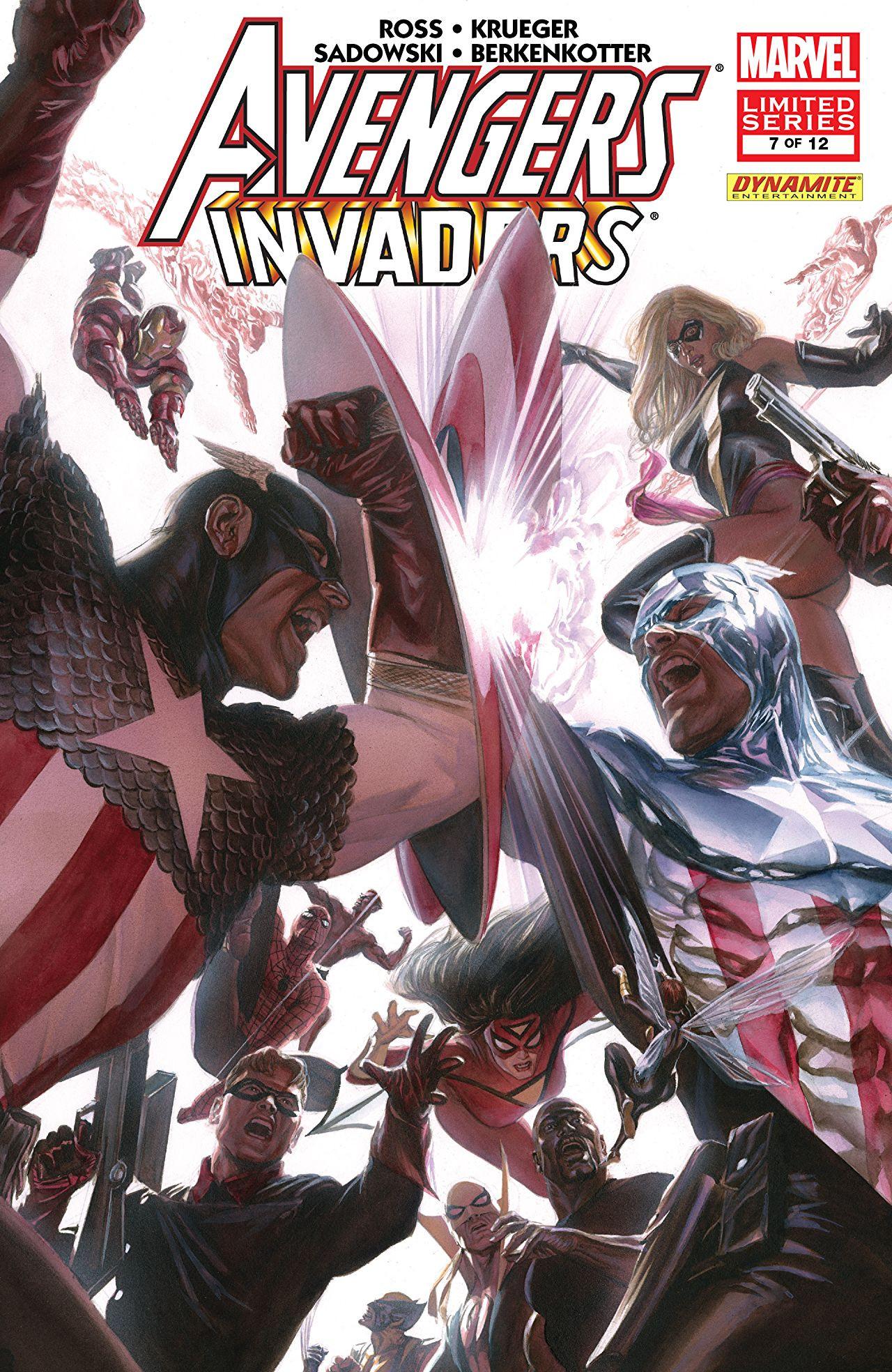 Avengers Invaders Vol 1 7