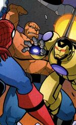 Benjamin Grimm (Earth-68326) Avengers and Power Pack Assemble! Vol 1 4