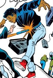 Boz (Los Angeles) (Earth-616) from West Coast Avengers Vol 1 3 001