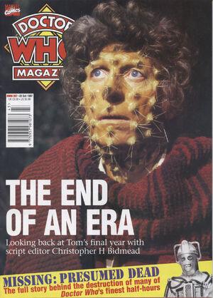 Doctor Who Magazine Vol 1 257
