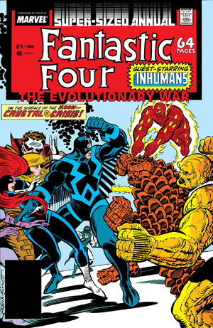 Fantastic Four Annual Vol 1 21