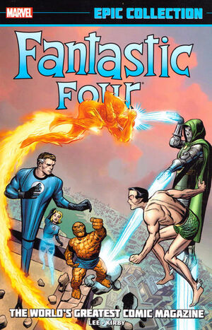 Fantastic Four Epic Collection Vol 1 1