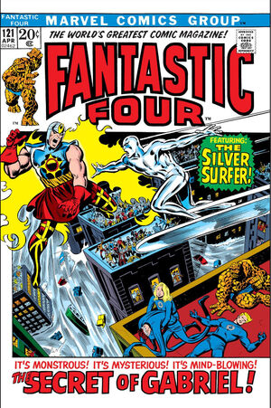 Fantastic Four Vol 1 121