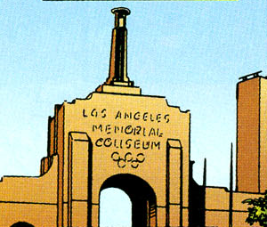 Los Angeles Memorial Coliseum from UltraForce Vol 1 1 001