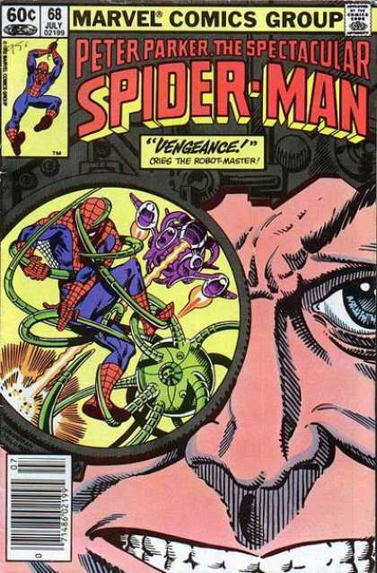 Peter Parker, The Spectacular Spider-Man Vol 1 68