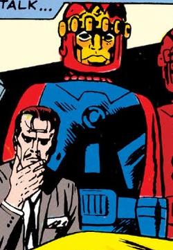 Sentinel 1 (Earth-616) from X-Men Vol 1 15 0001