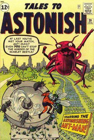 Tales to Astonish Vol 1 39 Vintage