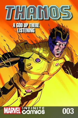 Thanos A God Up There Listening Infinite Comic Vol 1 3