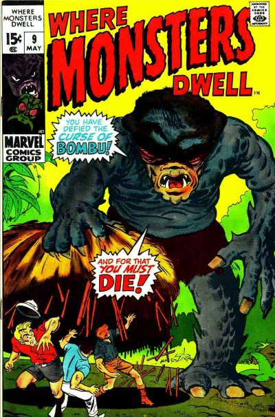 Where Monsters Dwell Vol 1 9