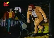 Wolverine (Logan) (Earth-92131), Bloodscream (Earth-92131), and Roughouse (Earth-92131) from X-Men- The Animated Series Season 2 3