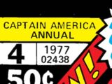 Captain America Annual Vol 1 4