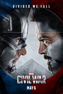 Captain America Civil War teaser poster