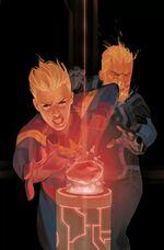 Captain Marvel Vol 1 128 Textless