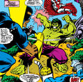 Defenders for a Day (Earth-616) and Bruce Banner (Earth-616) from Defenders Vol 1 63 001.jpg