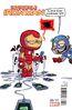 Invincible Iron Man Vol 3 6 Young Variant