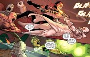 James Howlett (Earth-616), Charlie Cluster-7 (Earth-616), and Noh-Varr (Earth-200080) from Dark Reign The List - Wolverine Vol 1 1 0001