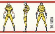Karla Sofen (Earth-616) from Official Handbook of the Marvel Universe Master Edition Vol 1 2 0001