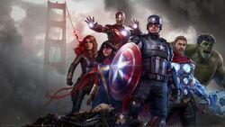 Marvel's Avengers (video game) box art 002 textless
