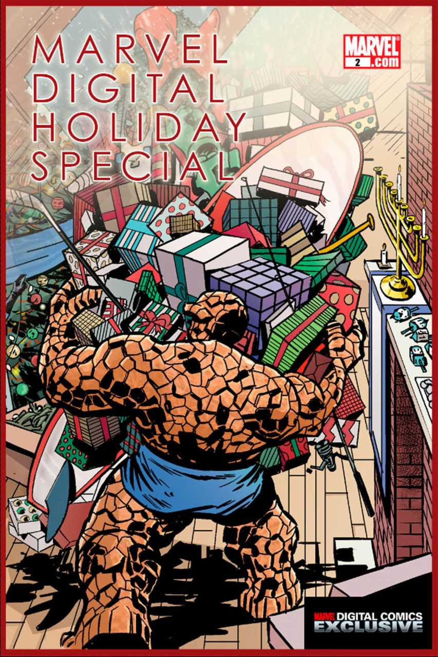 Marvel Digital Holiday Special Vol 1 2
