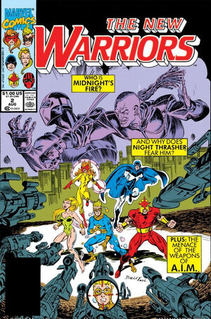 New Warriors Vol 1 2