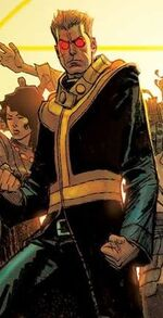 Scott Summers (Major Summers) (Earth-21919) from Siege Vol 2 1 Robinson Variant cover 001