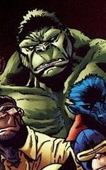 Bruce Bannaner (Earth-8101) from Marvel Apes Vol 1 2 0001
